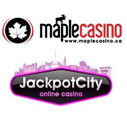 logos maple casino + jackpot city